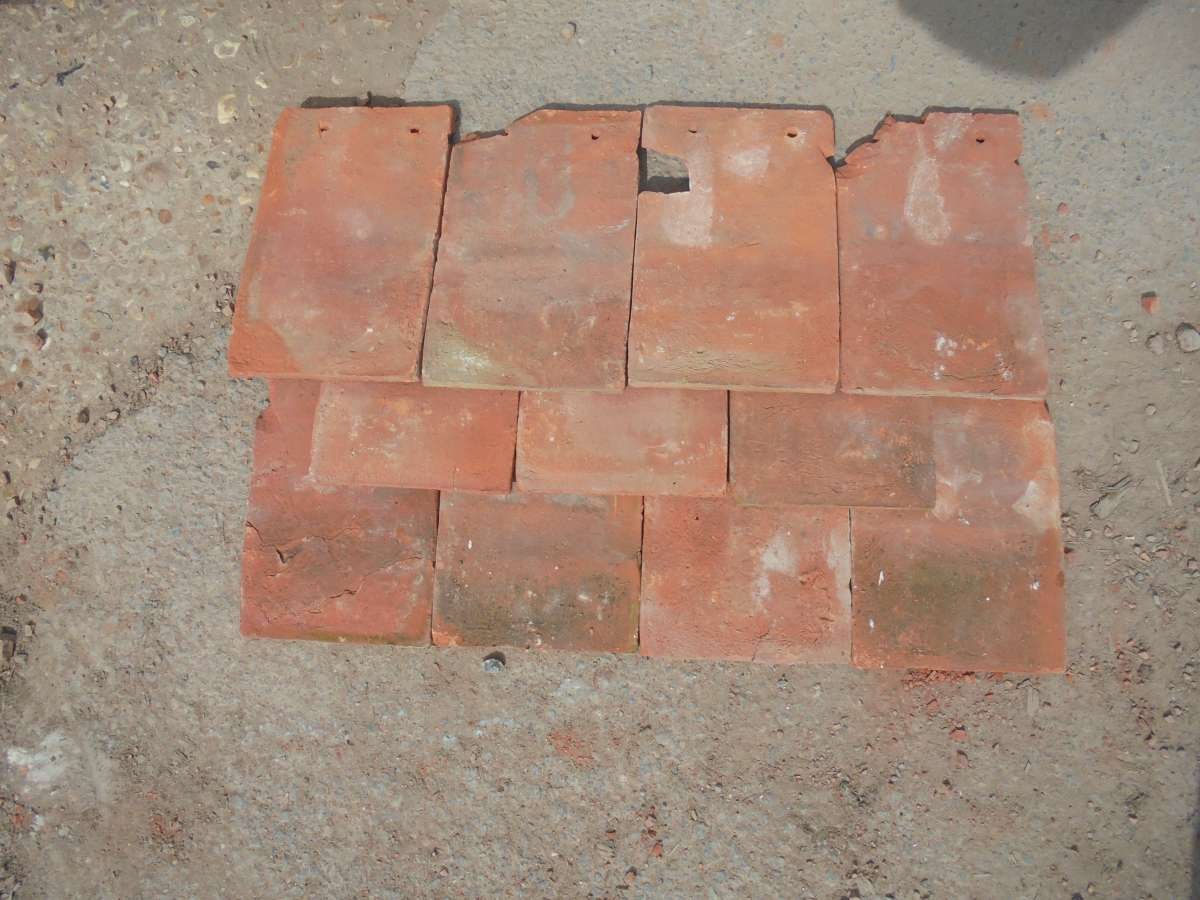 Reclaimed Hanging Peg Tile Authentic Reclamation