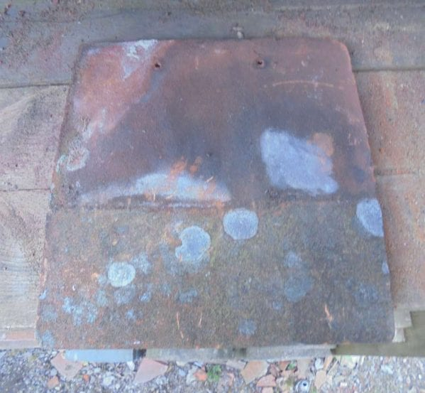 Reclaimed Handmade Weathered Tile-and-a-half
