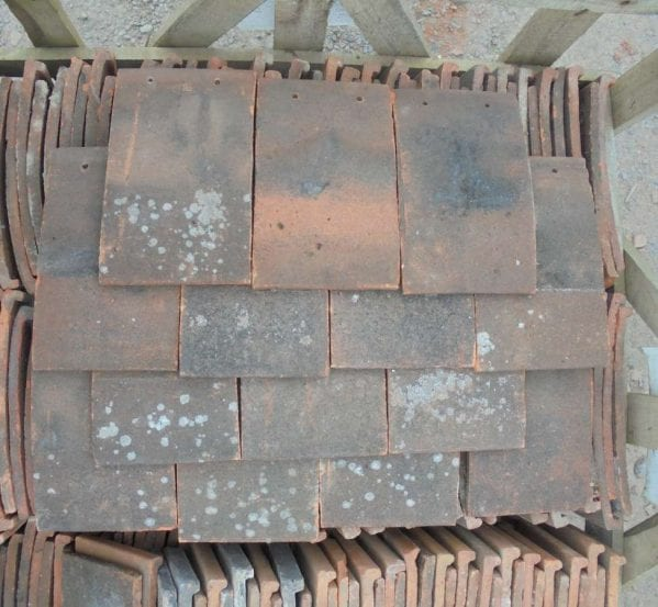 Reclaimed Handmade Clay Nib Tiles Weathered