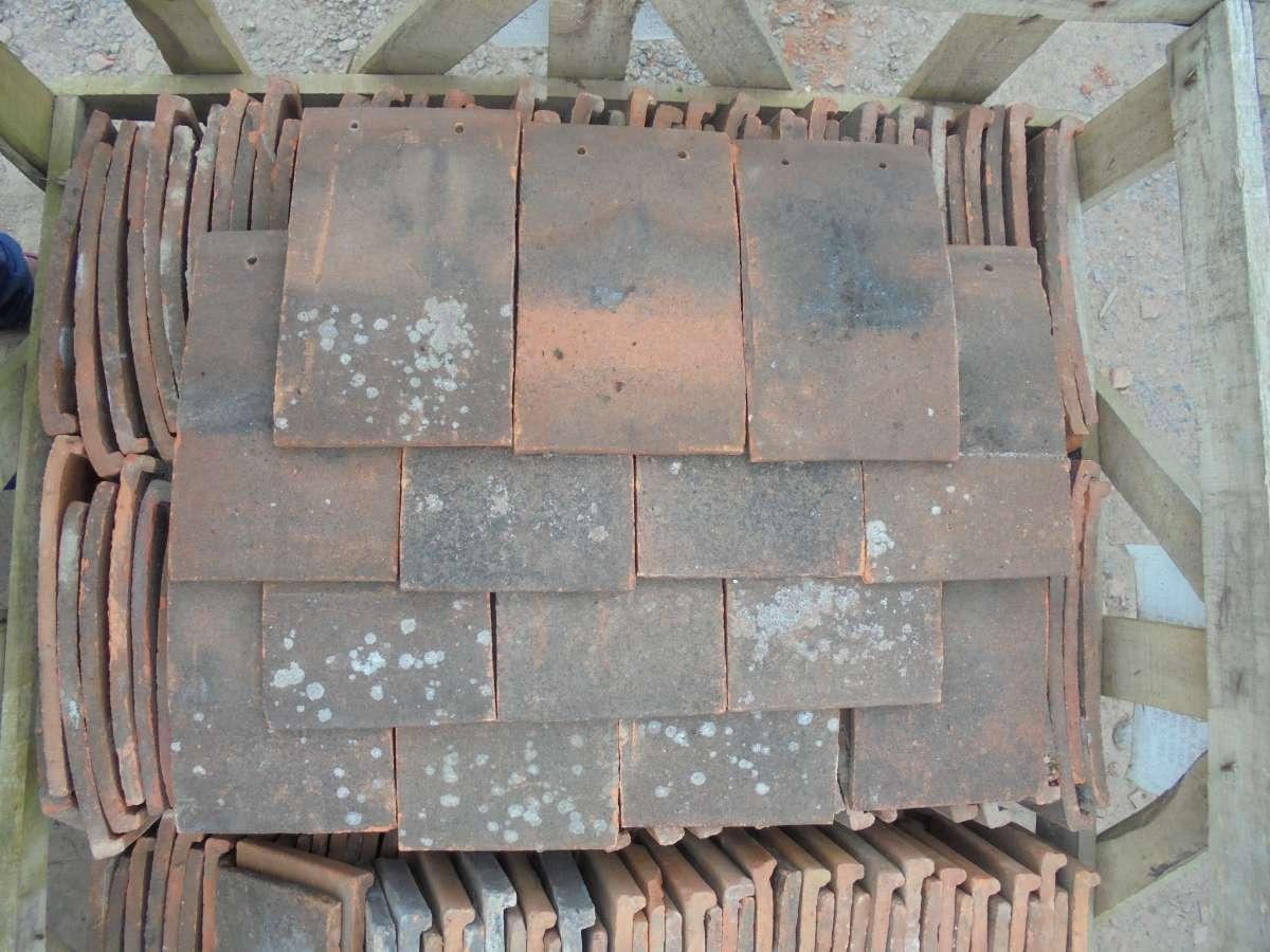 Reclaimed Handmade Clay Nib Tiles Weathered