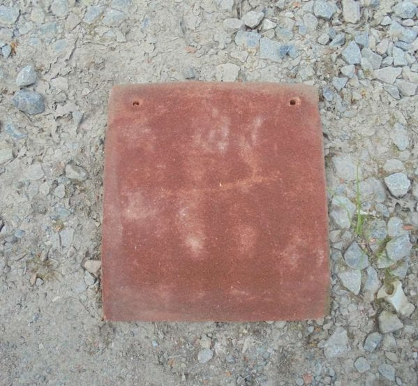 Reclaimed Red Clay Tile-and-a-Half