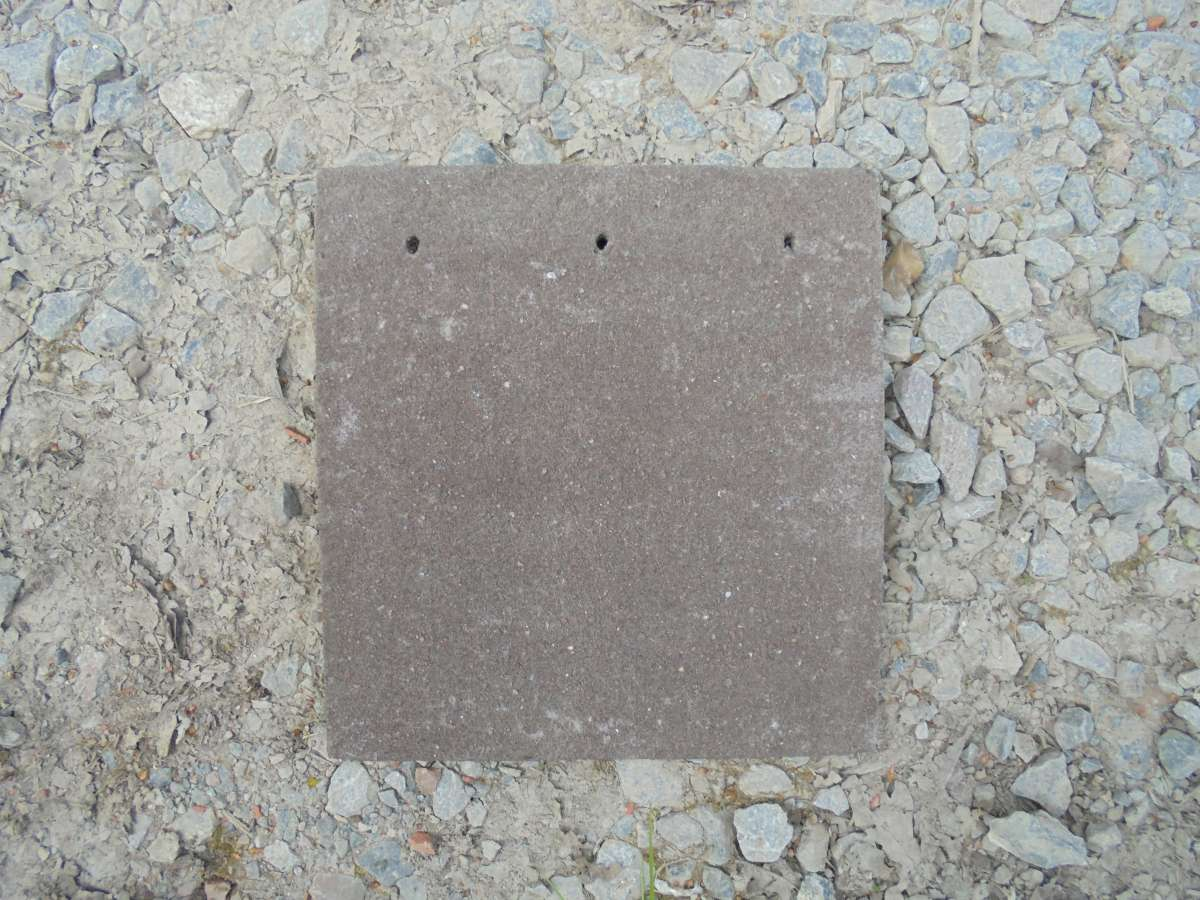 Reclaimed Concrete Tile-and-a-Half