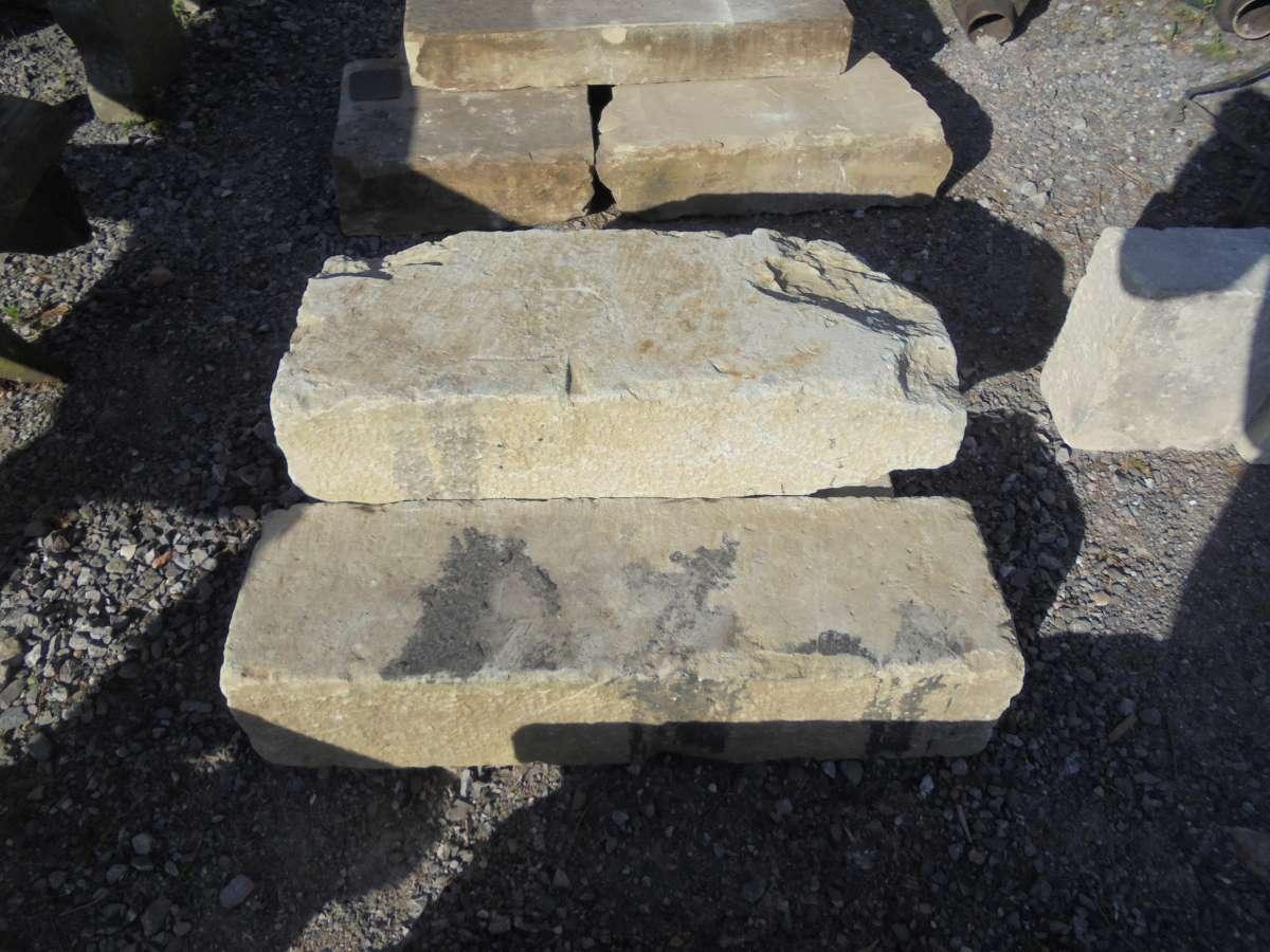 Reclaimed Sandstone Step Set