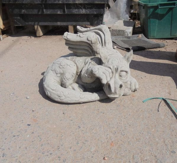 Reclaimed Stone Garden Dragon