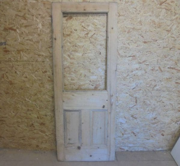 Reclaimed Half Glazed Door (Missing Pane)