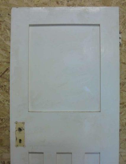 Reclaimed 1 over 3 panel painted door authentic reclamation for 1 over 3 panel door