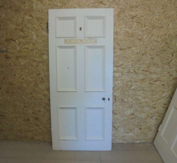 Reclaimed Painted 6 Panel Door