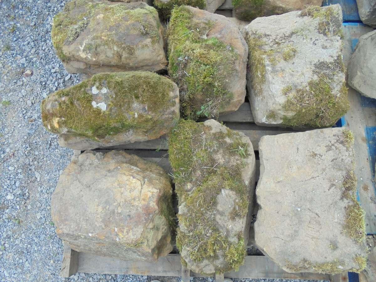 Reclaimed Garden Feature Stones