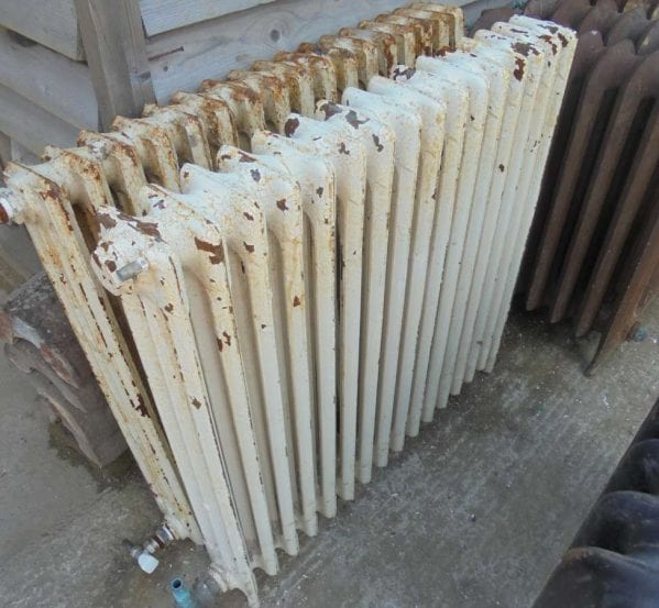 Reclaimed 3 bar radiator