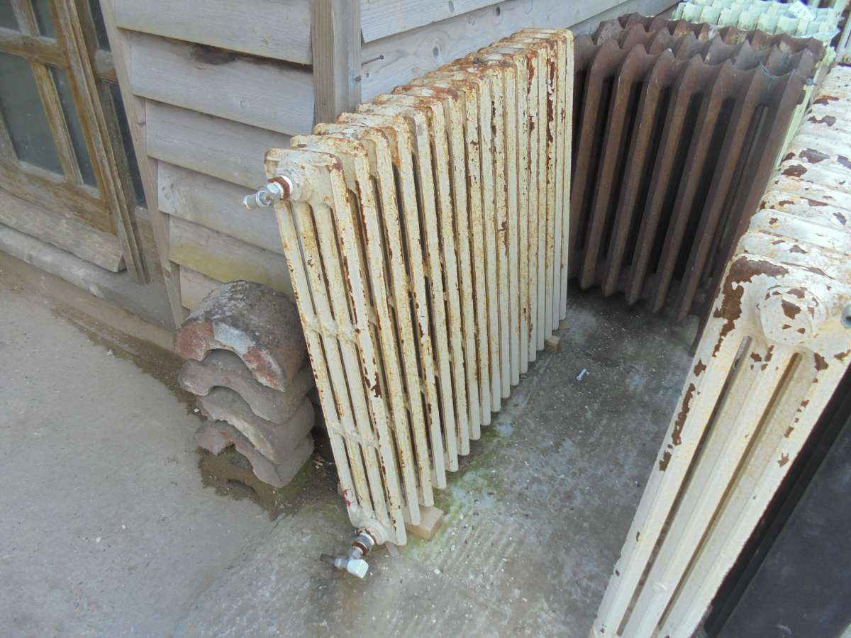Reclaimed 4 bar radiator