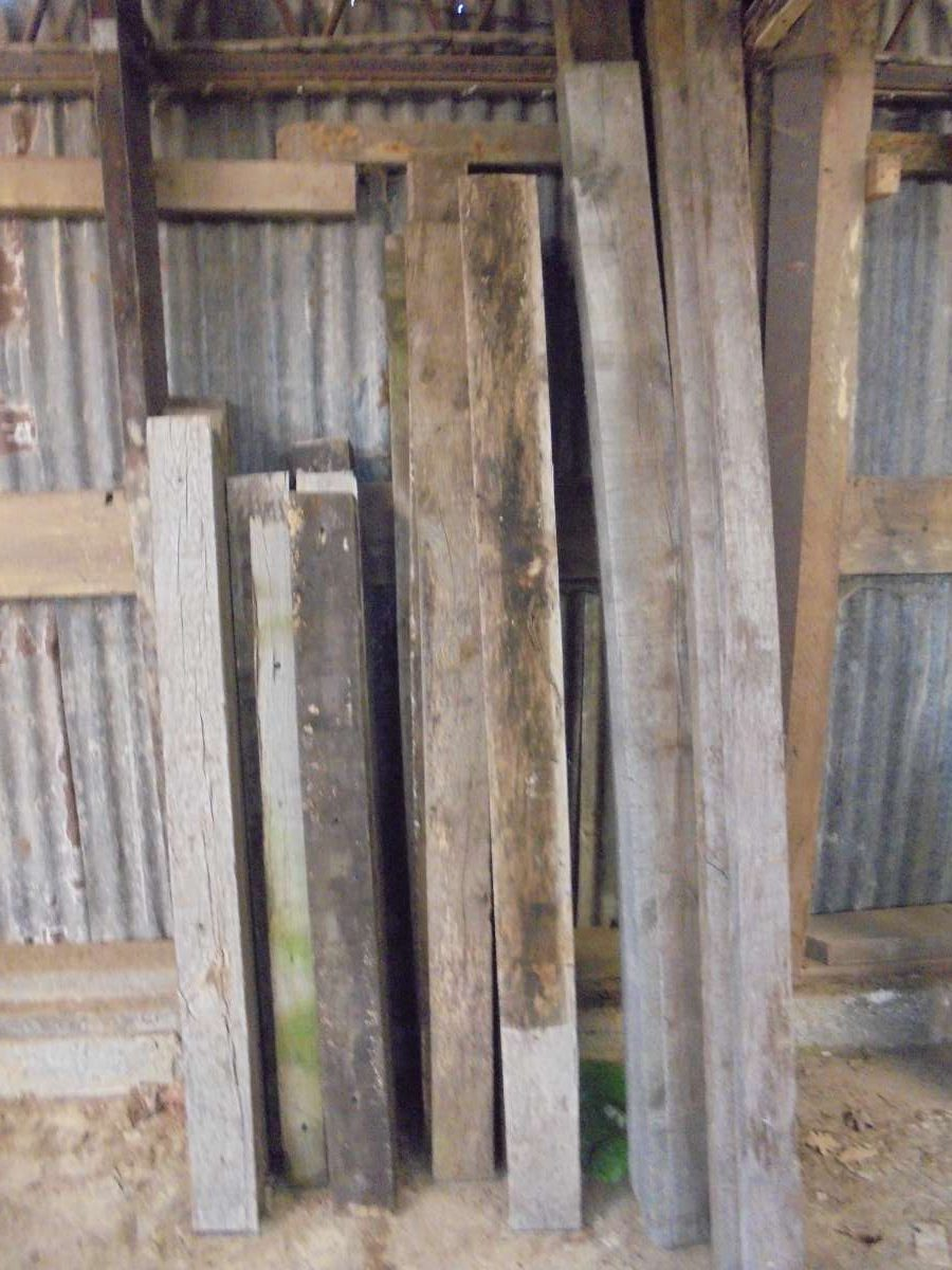 Various style reclaimed oak beams