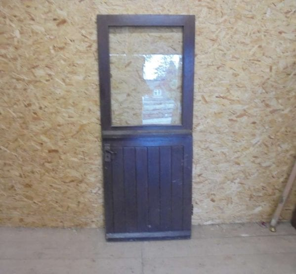 Reclaimed Half Glazed Stable Door