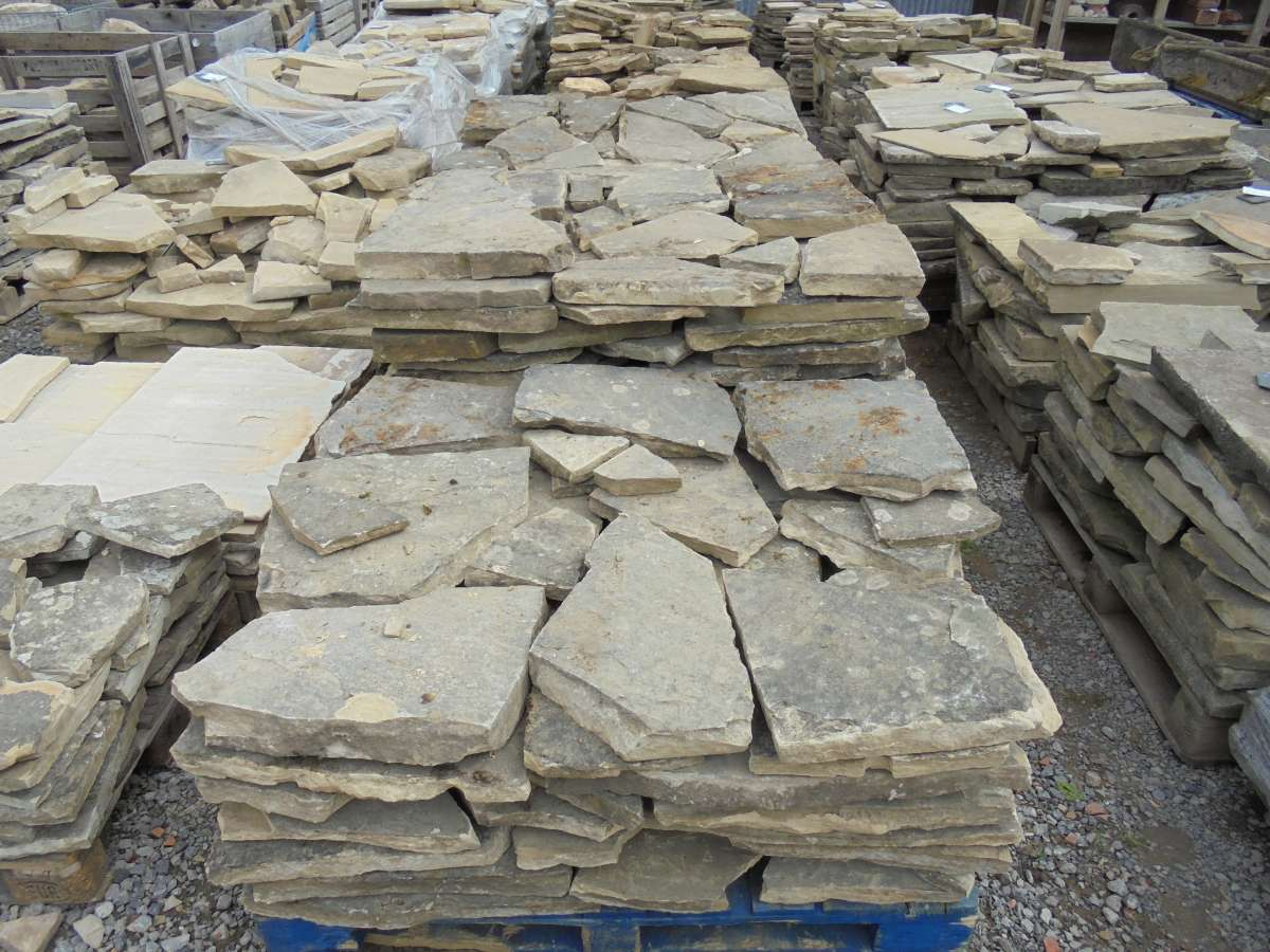 crazy york stone paving