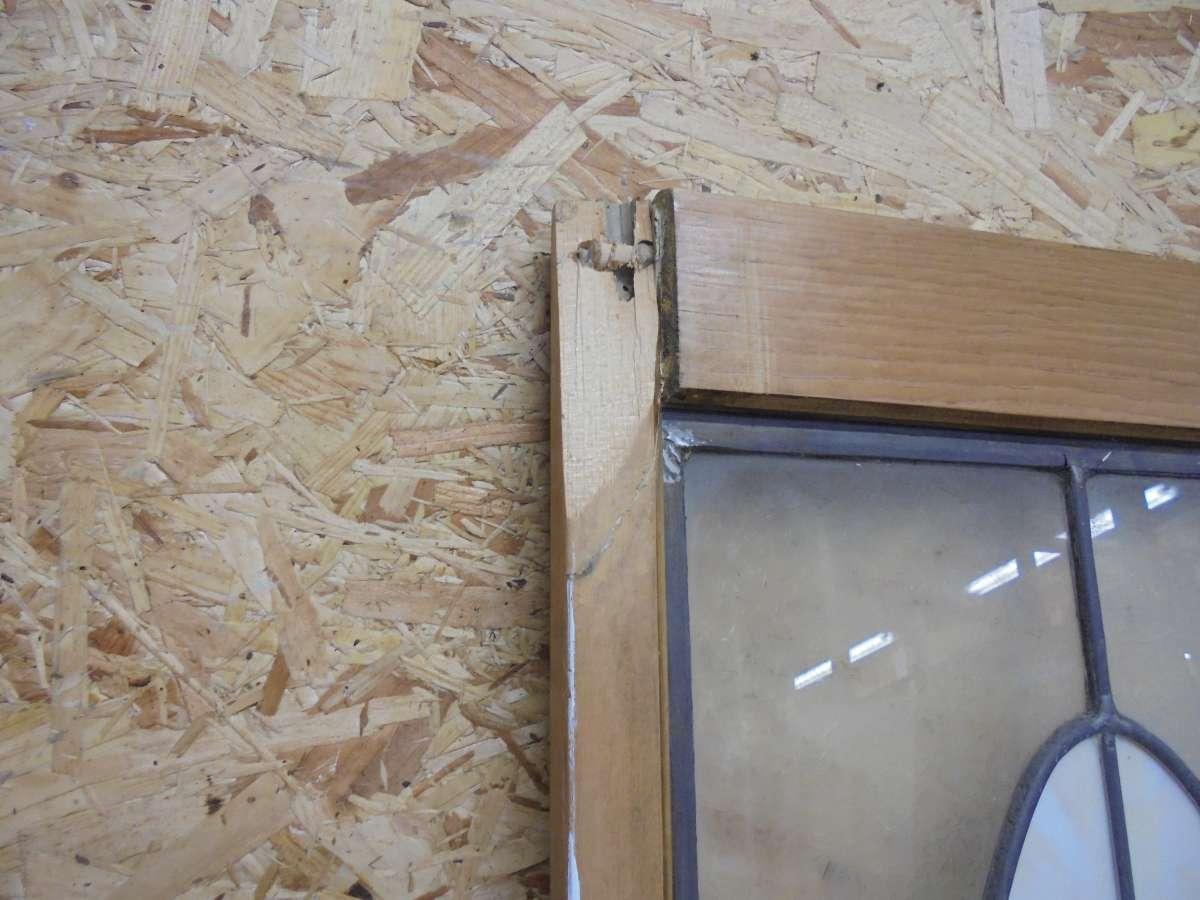Reclaimed Bi Fold Stained Glass Doors