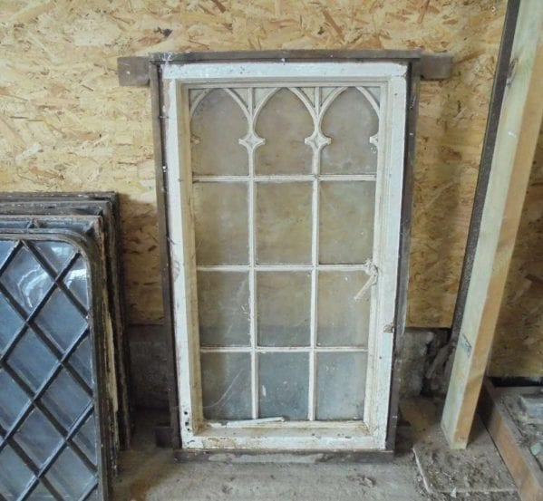 Reclaimed Gothic Style Windows
