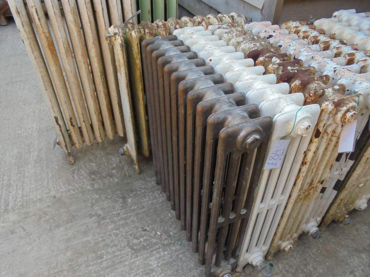Reclaimed four bar radiator