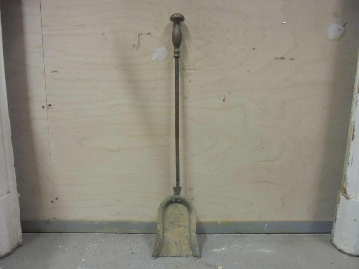 Reclaimed Coal Shovel for Fireplace