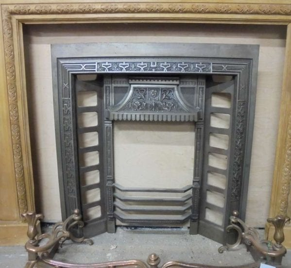 Reclaimed Decorative Metal Fire Insert