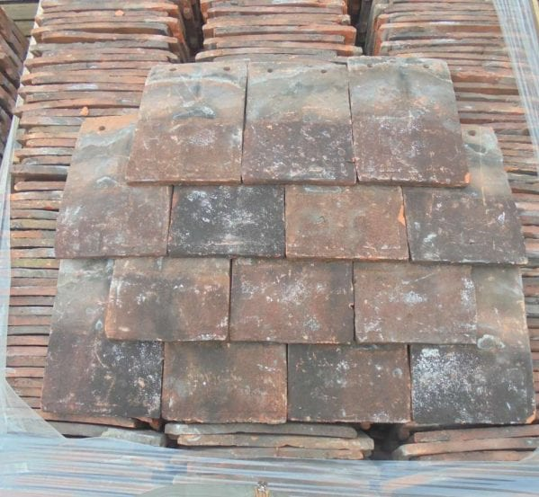 Reclaimed Handmade Clay Nib Tiles