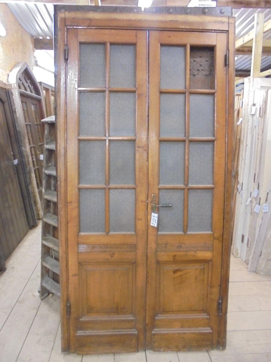 RECLAIMED DOUBLE DOOR PAIR