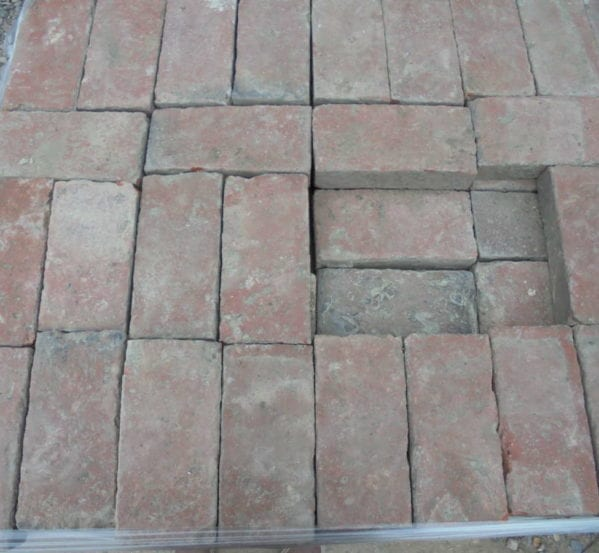 Victorian paving bricks