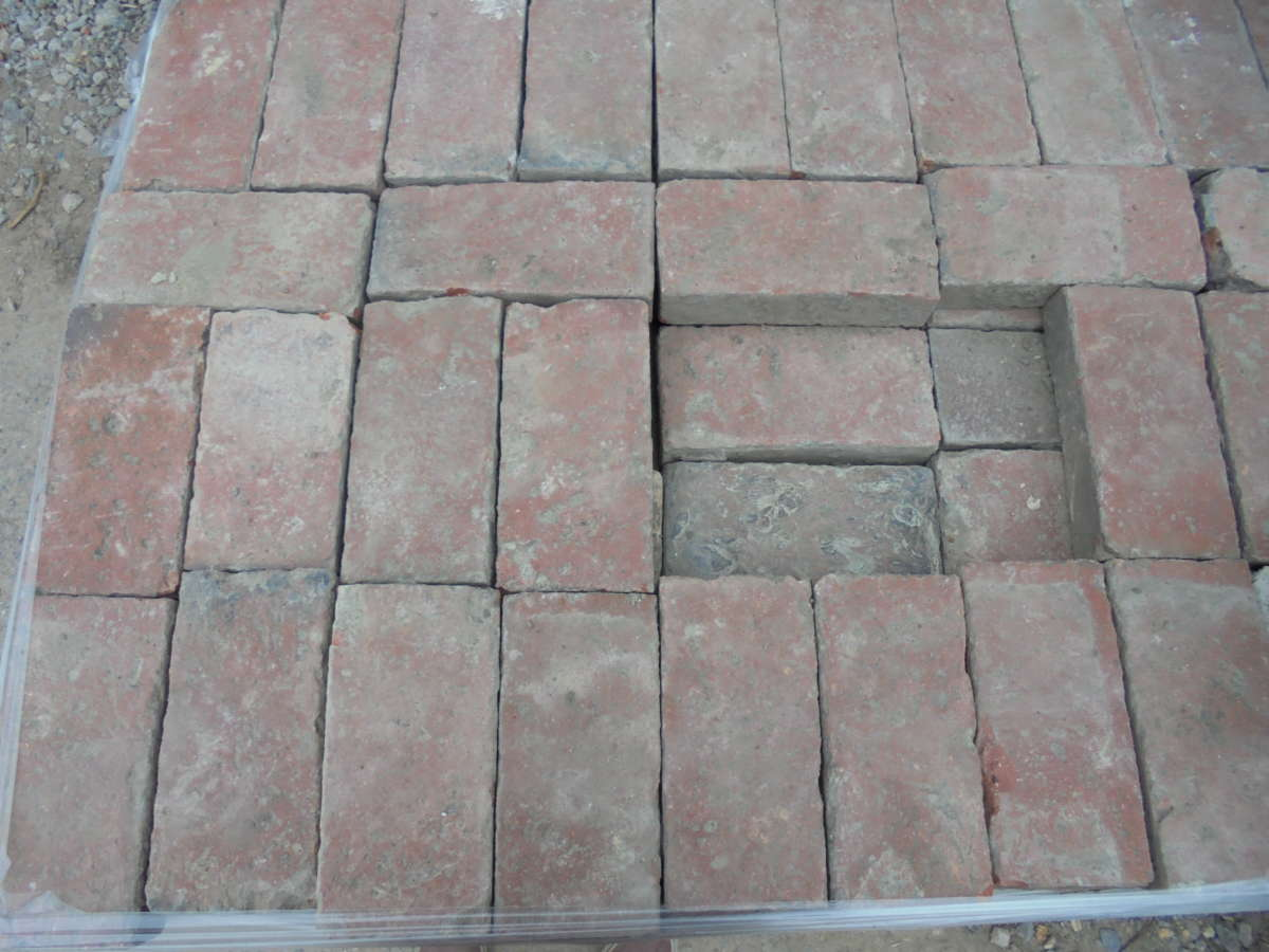 Victorian paving bricks