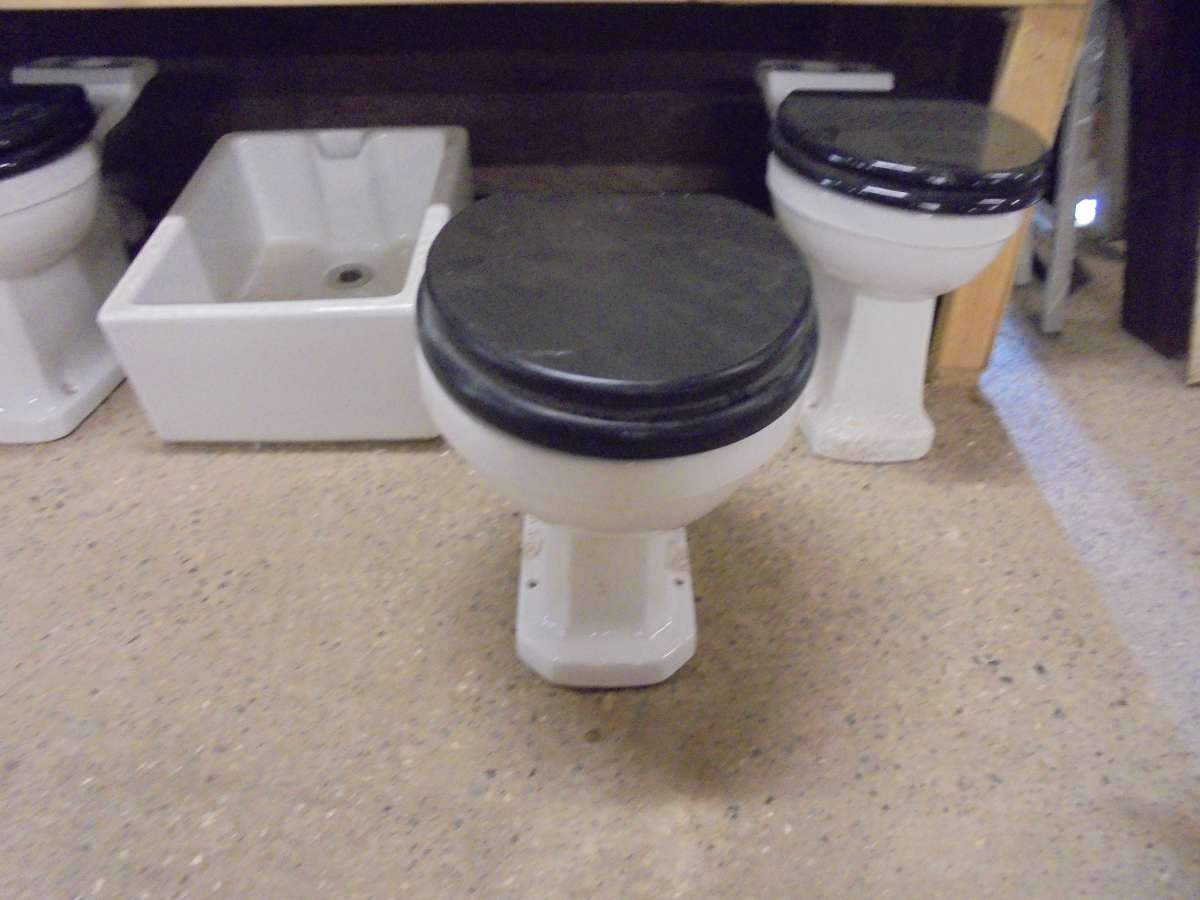 Reclaimed Toilet Black Wooden Toilet Seat Authentic Reclamation