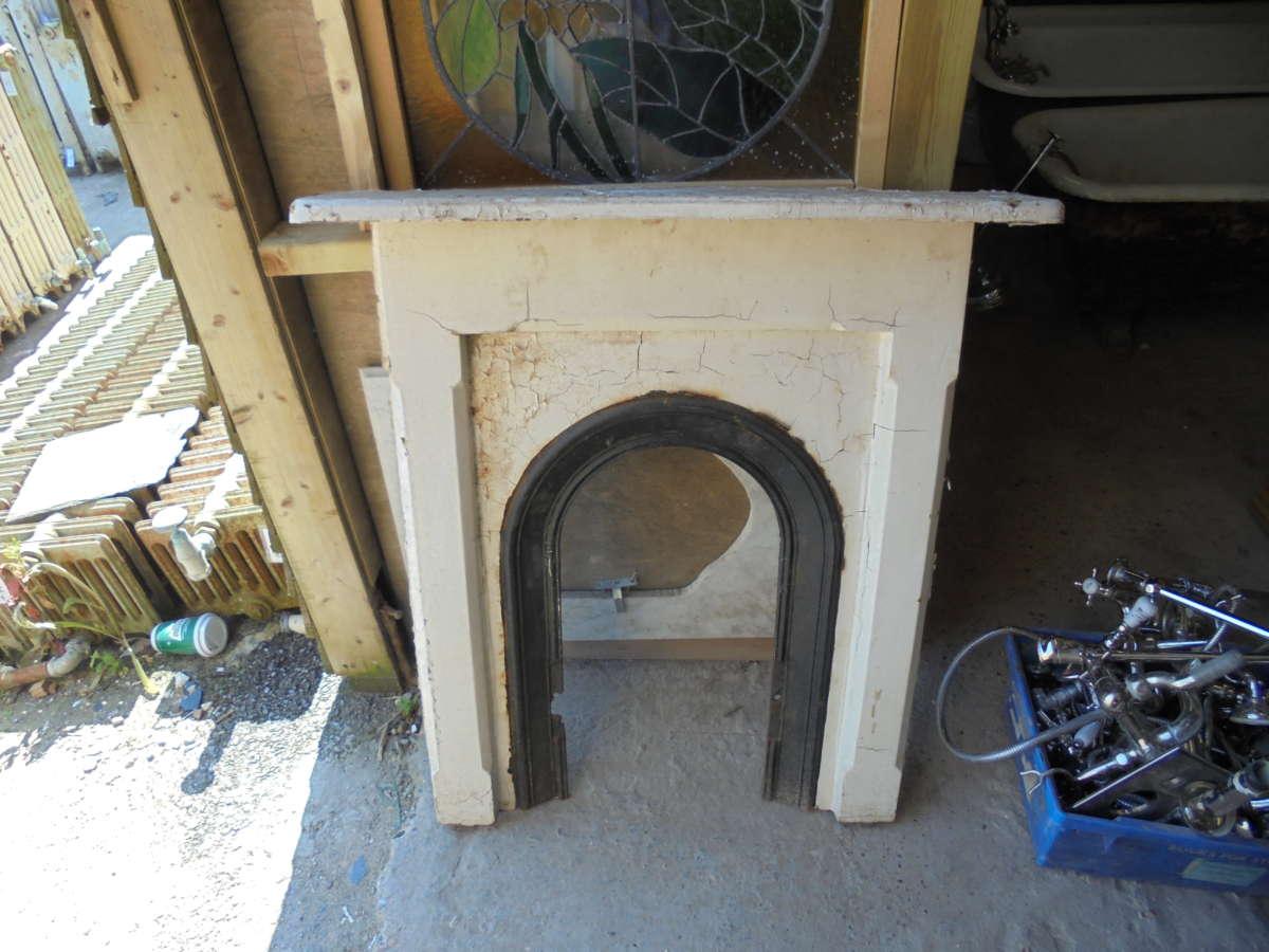 cast iron fire surround