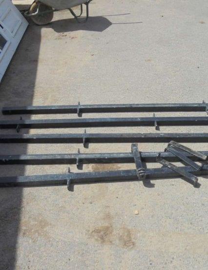 Reclaimed Iron Railings- Set