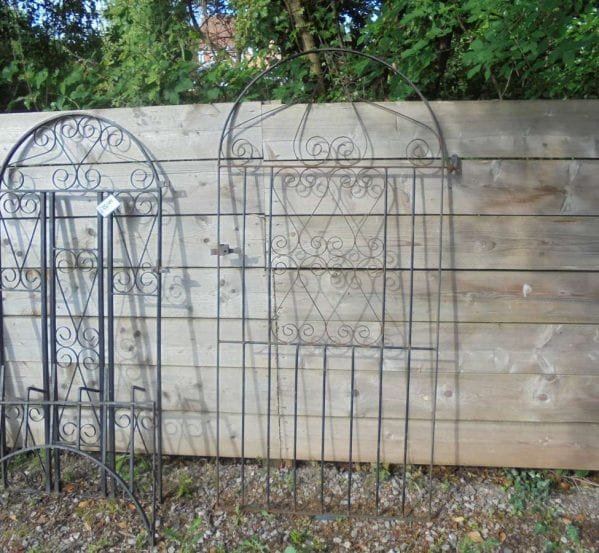 Reclaimed Wrought Iron Fences X2 Other Architectural Antiques