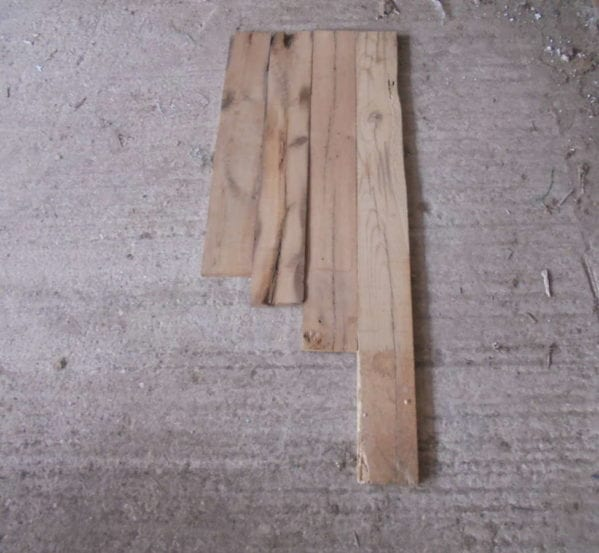Reclaimed Oak Floorboards