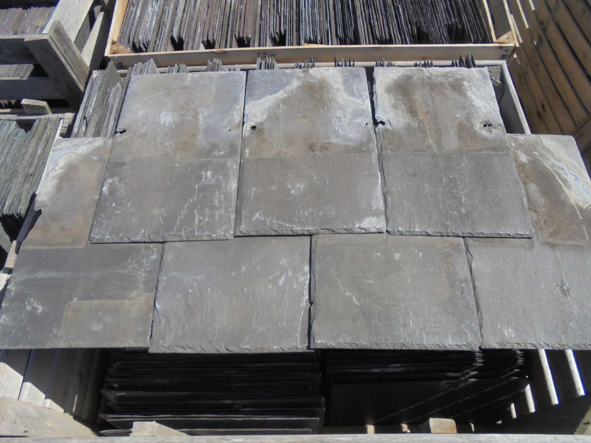20 x 12 Reclaimed roofing slate