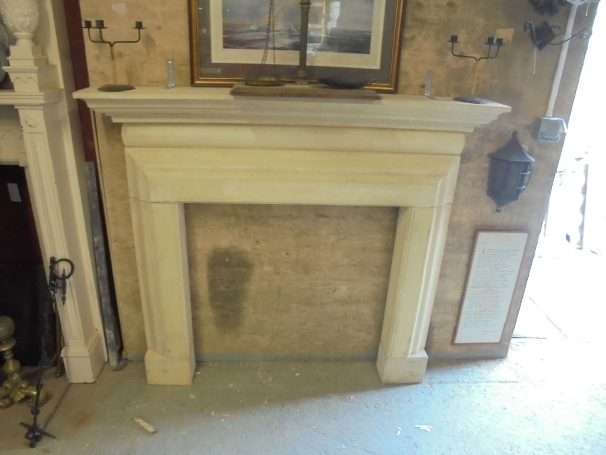 Reclaimed Stone Fire Surround Authentic Reclamation