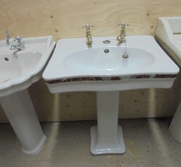 decorative sink & pedestal