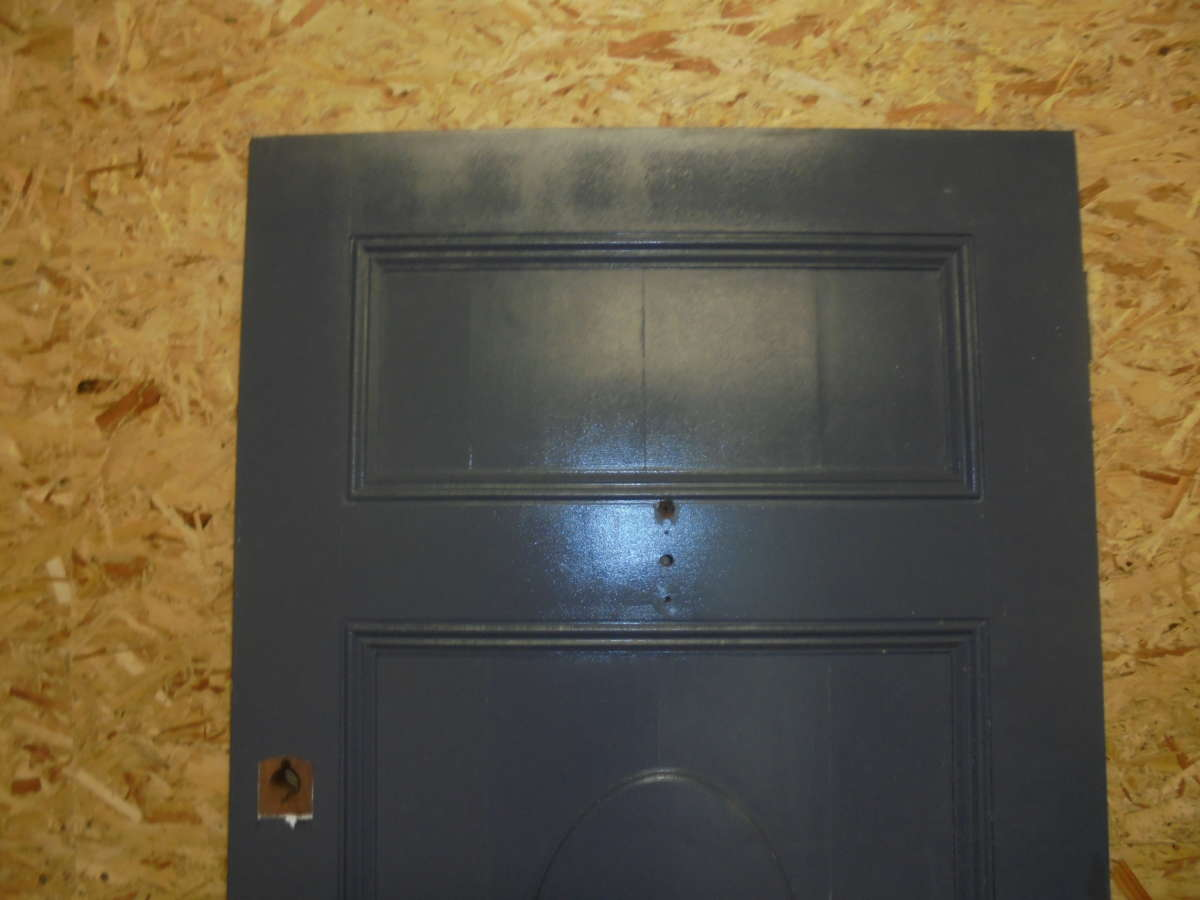 Reclaimed 2 panel front door authentic reclamation for Recycled front doors