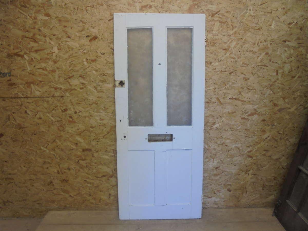 Reclaimed Half Glazed Door Authentic Reclamation