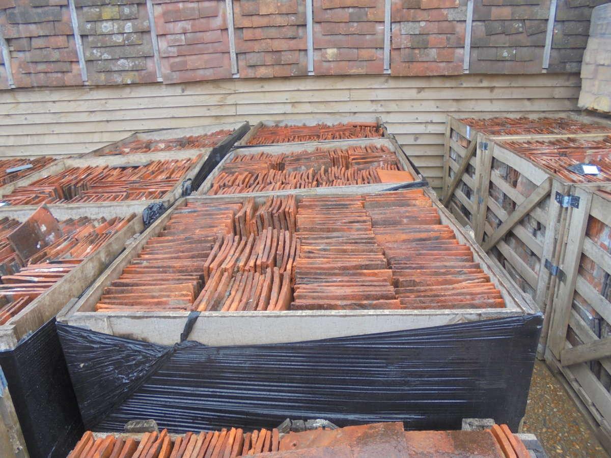 Reclaimed Sussex Peg Tiles