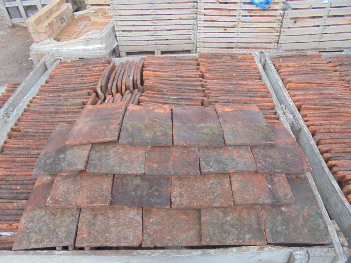 Reclaimed Clay Roofing Nib Tiles