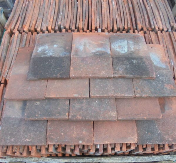 Large Batch Of Handmade Keymer Tiles Authentic Reclamation