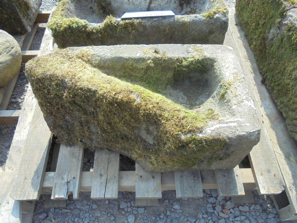 triangular shape trough