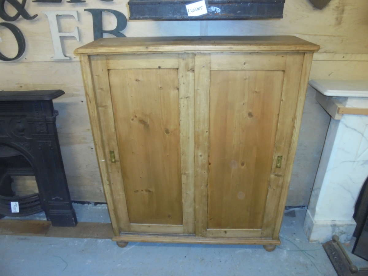 Antique Storage Cupboard with sliding doors