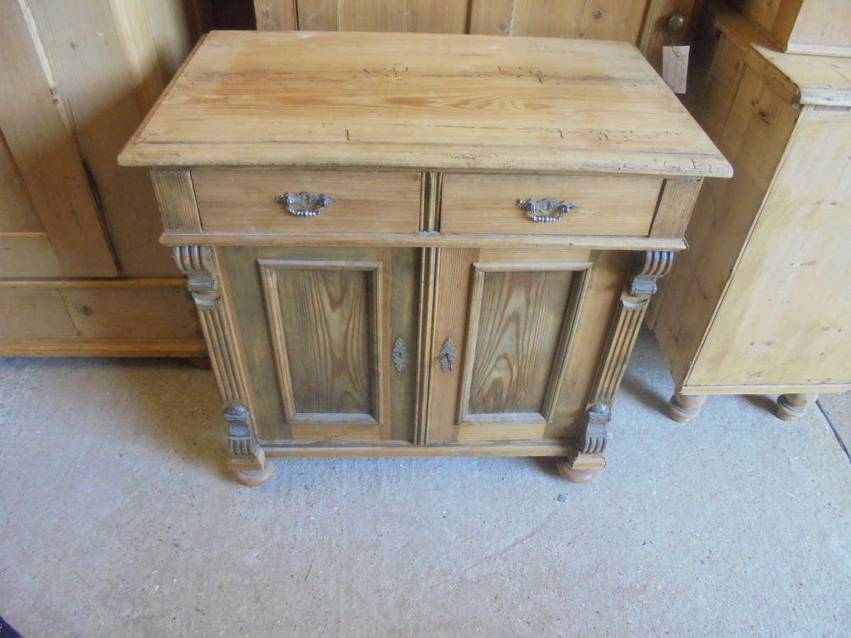 antique pine side board