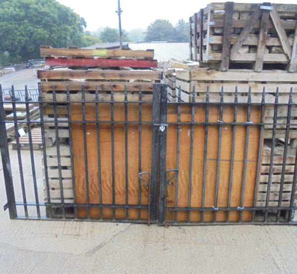 Pair of Large Wrought Iron Gates