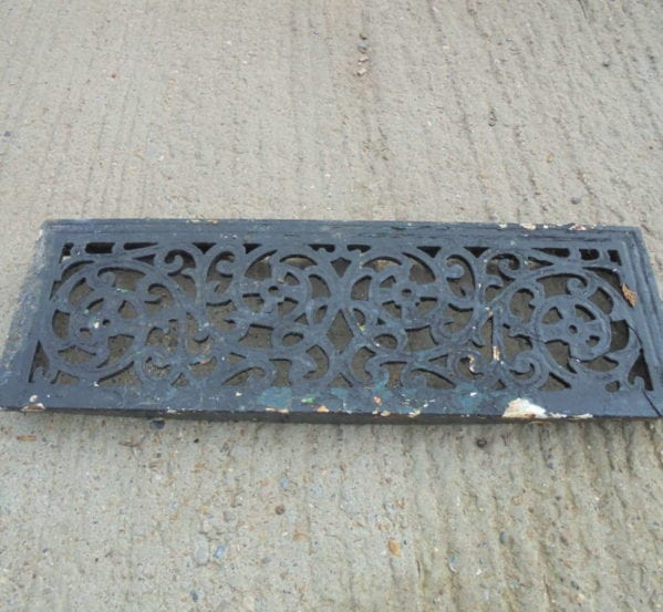 Reclaimed Metal Door Step