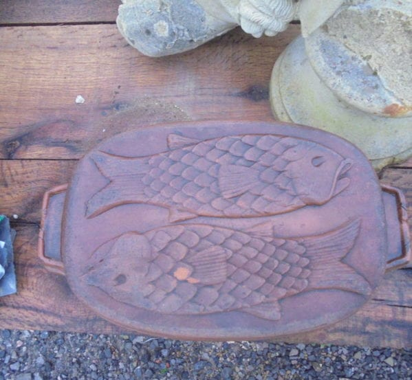 Small Terracotta Fish Baking Dish