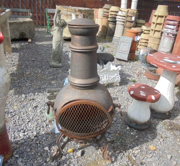 Reclaimed Metal Chiminea