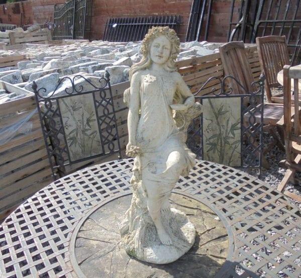 Small Plastic Decorative Woman