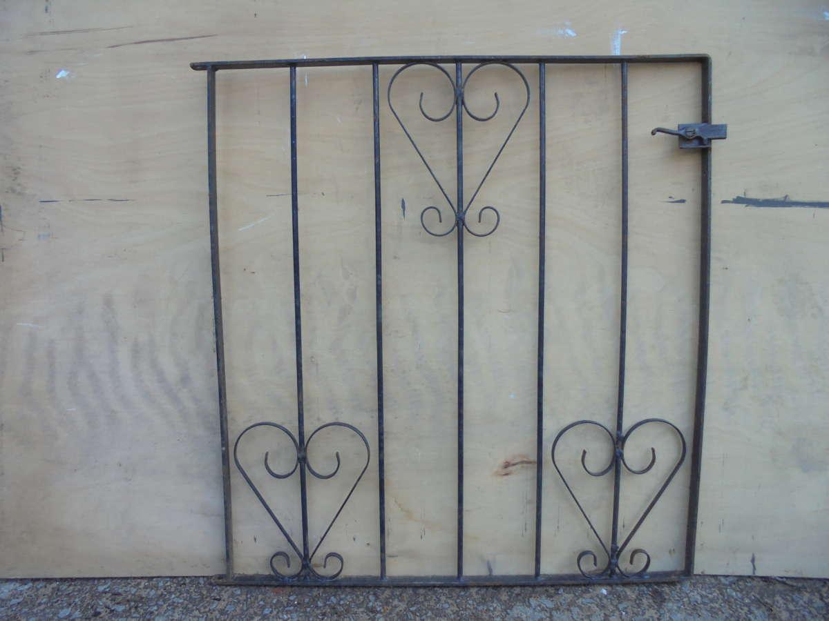 Small Modern Wrought Iron Gate