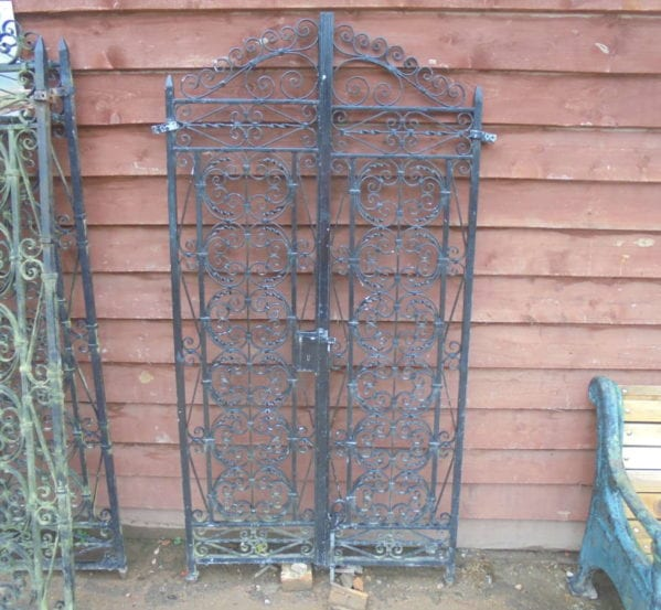 Pair Of Reclaimed Side Gates