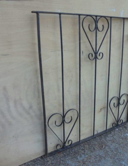 Small Modern Wrought Iron Gate